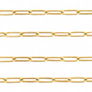 Ketting goudkleurig 3 mm DQ