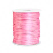 Satijn draad roze dark 1,5 mm