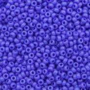 Miyuki rocailles blauw opaque 2 mm 5 gram
