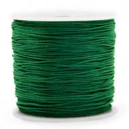 Macramé draad groen donker 0,8 mm