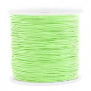 Macramé draad groen mint 0,8 mm