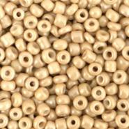 Rocailles beige amber 3 mm 20 gram
