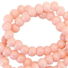 Glasparel roze perzik 3 mm opaak