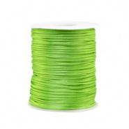 Satijn draad groen 1,5 mm