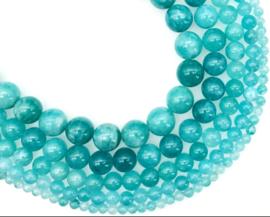 Natuursteen kraal blauw Amazonite 4 mm