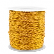 Macramé draad gold honey metalstyle wire