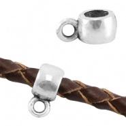 Kraal met oogje zilver Ø 3,3 mm