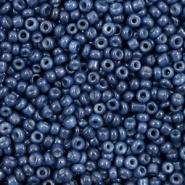 Rocailles blauw navy peony 2 mm 20 gram