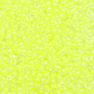 Miyuki rocailles geel luminous neon 2 mm 5 gram