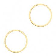 Open ringen, splitringen, dichte ring