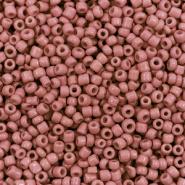 Rocailles bruin deep terracotta 2 mm 20 gram