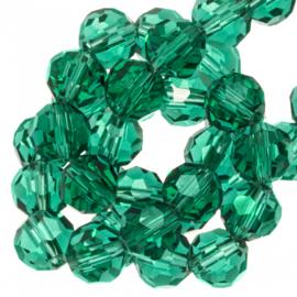 Facetkraal groen 6 mm 100 stuks