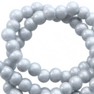 Glasparel grijs steel metallic 3 mm opaak
