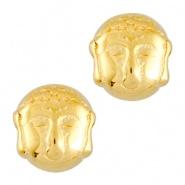 Metalen kraal goud boeddha DQ