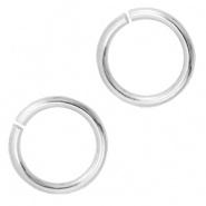 Open ring zilver 6 mm 32,5 gram