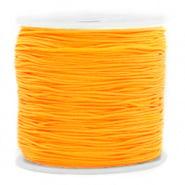 Macramé draad geel warm 0,8 mm