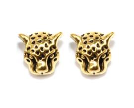 Fiesta kraal luipaard goudkleurig