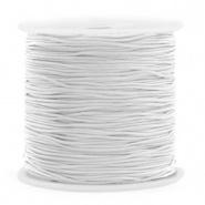 Macramé draad grijs licht 0,8 mm