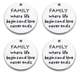 Bedel FAMILY where life begins and love never ends RVS