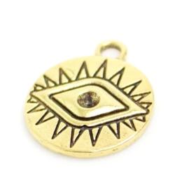 Bedel alziend oog goud