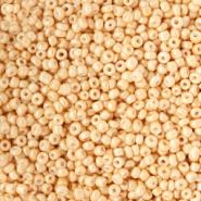 Rocailles bruin golden peach 2 mm 20 gram