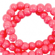 Glasparel roze rood rouge 3 mm opaak