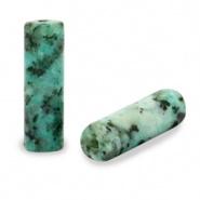 Kraal groen turquoise tube natuursteen