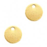 Bedel goudkleurig 8 mm DQ