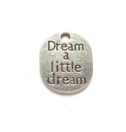 Bedel dream a little dream zilver