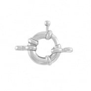 Boeislotje zilver 11 mm