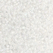 Rocailles crystal pearl 2 mm 20 gram