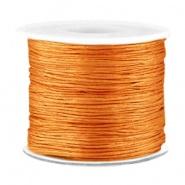 Macramé draad bruin copper licht 0,7 mm