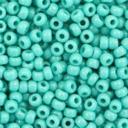Miyuki rocailles groen turquoise opaque 3 mm 5 gram