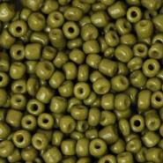 Rocailles groen olive 3 mm 20 gram