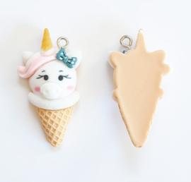 Bedel ijsje wit unicorn piggy
