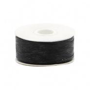 Beadalon nymo wire 0,3 mm zwart
