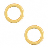 Dichte ring goud 6 mm 35 stuks DQ