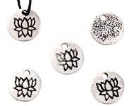 Bedel lotus zilver