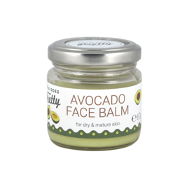 Avocado face balm