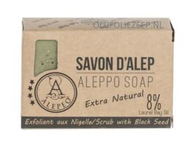 Aleppo zeep black seed scrub