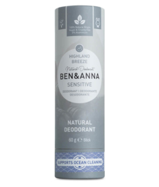 Highland breeze sensitive deodorant