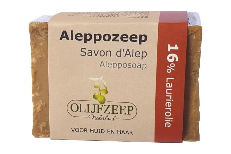 Aleppo zeep 16% laurierolie