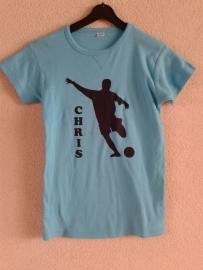 shirt met voetballer en naam