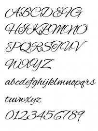 Lettertype 1