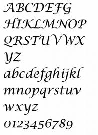 Lettertype 11
