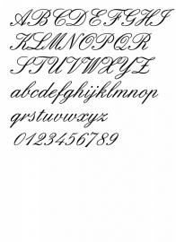 Lettertype 9