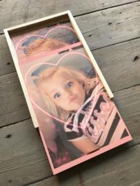 Fotopuzzel 70 stukjes in houten doos