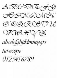 Lettertype 12