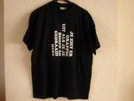 t-shirt je ziet er best grappig uit