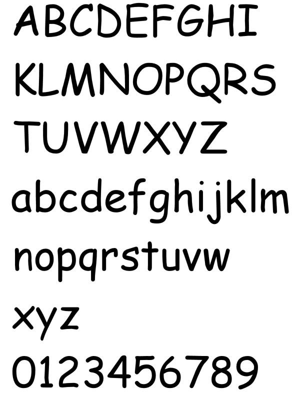 Lettertype 7
